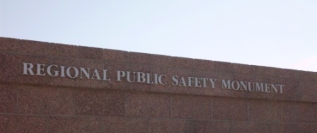 Picture of Regional Public Safety Monument.JPG