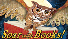 soar with book owl