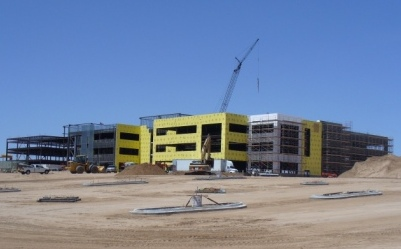 Photo of HP Construction Site
