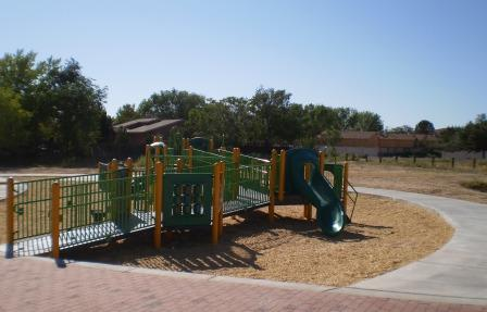 picture of park and play structure