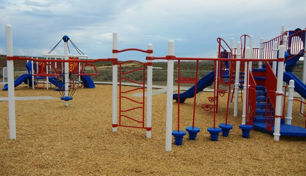 Picture of playground equipment