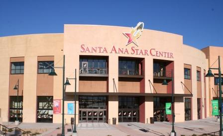 exterior Santa Ana Star Center